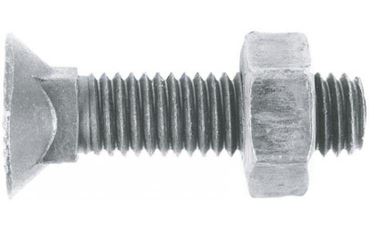 DIN 608 • 10.9 • mikrolamelový zinkový povlak