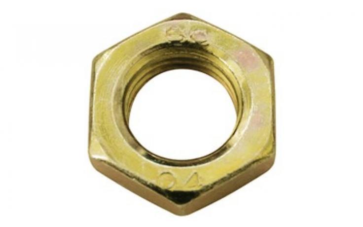 Forma B, oceľ, pevn.tr. 4, ľavý závit, žltý zinok