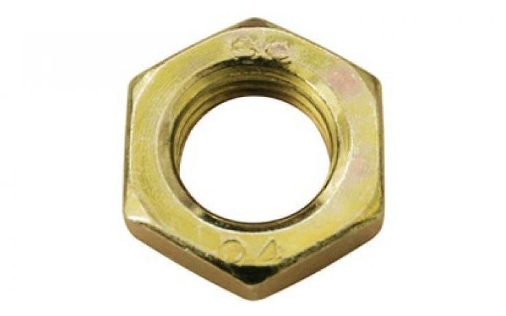 Oceľ, pevn.tr. 17H, jemný závit, žltý zinok