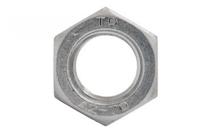 ISO 4032 • ušľachtilá nehrdzavejúca oceľ A2-70