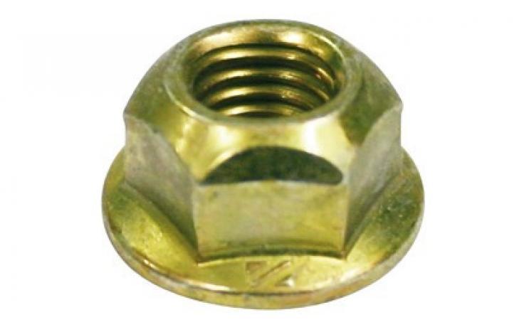 Oceľ, pevn.tr. 8, žltý zinok