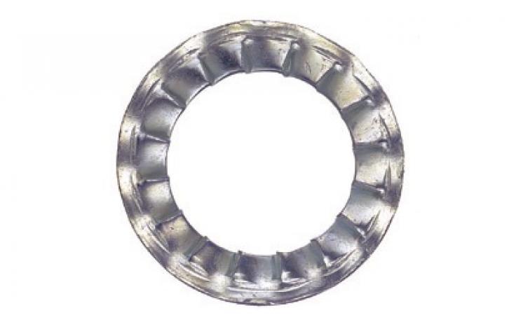 DIN 6798, forma I, ušľachtilá oceľ INOX A2