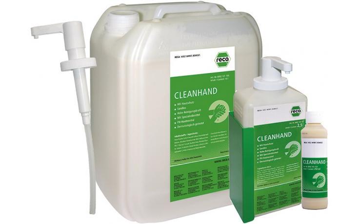 Prostriedky na čistenie rúk Cleanhand