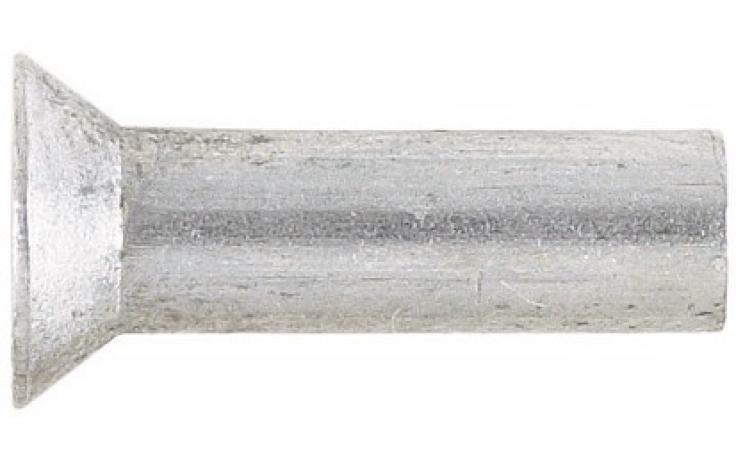 DIN 661 (ISO 1051), zápustná hlava, hliníkové