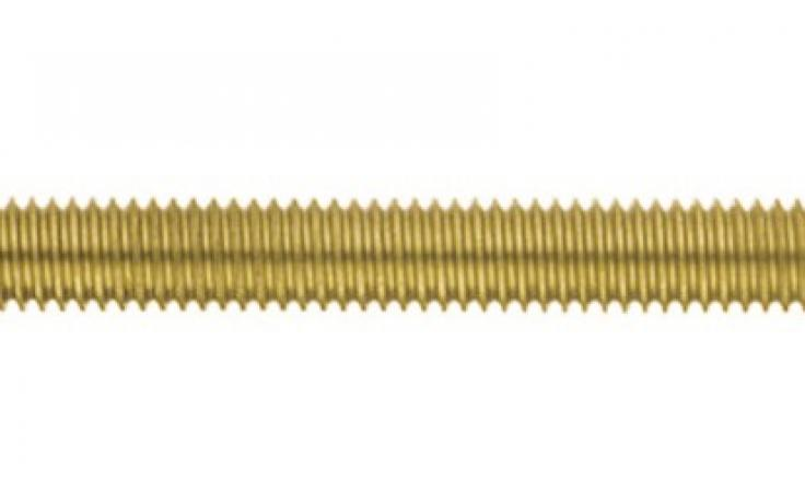 DIN 976-1, závitové tyče, 1 meter, mosadz, BPÚ