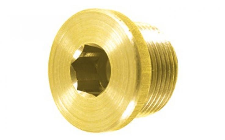 Oceľ, pevn.tr. 5.8, metrický jemný závit, žltý zinok