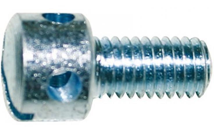 DIN 404, skrutky s vál. hl. s otvormi v hlave, INOX A1-50