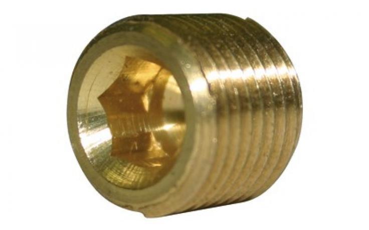 DIN 906, skrutkové zátky, palcový závit, mosadz, BPÚ