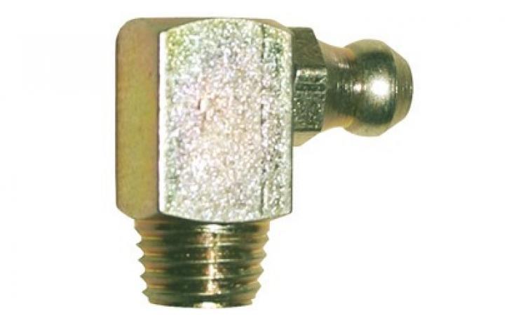 Forma C, 90 stupňov zahnuté, samotvářecí, oceľ, žltý zinok