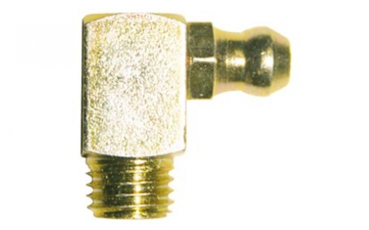 Forma C, 90 stupňov zahnuté, oceľ, žltý zinok