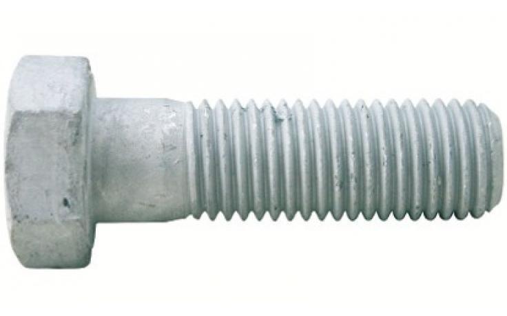 ISO 4014, pevn.tr. 8.8, žiarový zinok