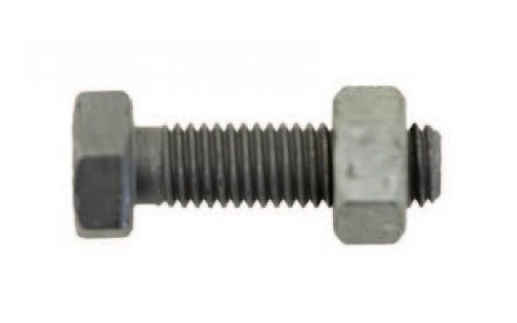 EN 15048 • ISO 4017/4032 • oceľ 8.8/8 • žiarový zinok • CE konformita