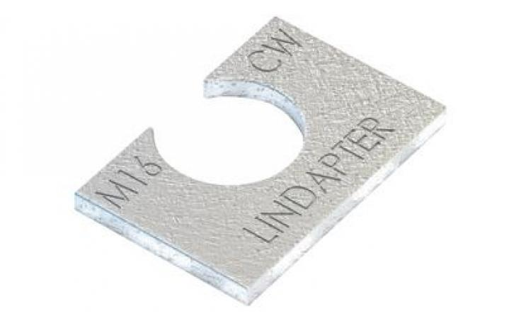 Vyrovnávacie kusy (pre A/B) • typ CW • plochá oceľ • žiarový zinok