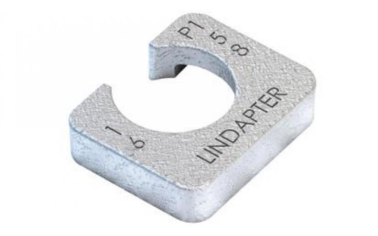 Vyrovnávací kus (pre A/B) • typ P2 • krátky • plochá oceľ • pozinkované