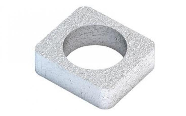 Vložky pre A • typ W • plochá oceľ • žiarový zinok