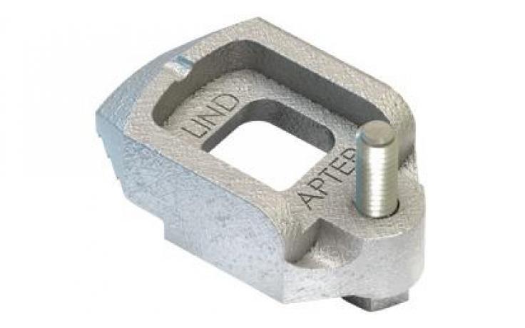 Svorky • nastavovacia skrutka • typ D2 • temperovaná liatina • pozinkované