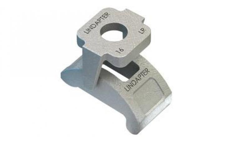 Svorky • dvojdielne • typ LR • temperovaná liatina • žiarový zinok