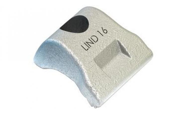 Svorky • typ LS • ušľachtilá oceľ oceľová liatina 1.4408