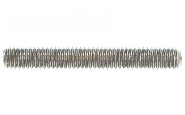 Gewindestift ISO 4029 - 45H - Zinklamelle silber - M6 X 6
