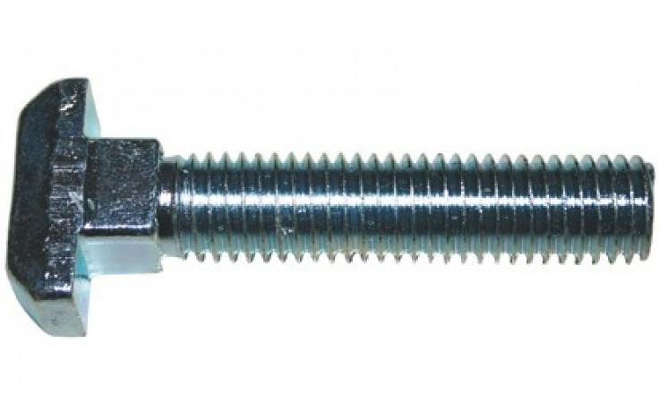 Hammerschraube DIN 186B - 4.6 - verzinkt blau - M16 X 60