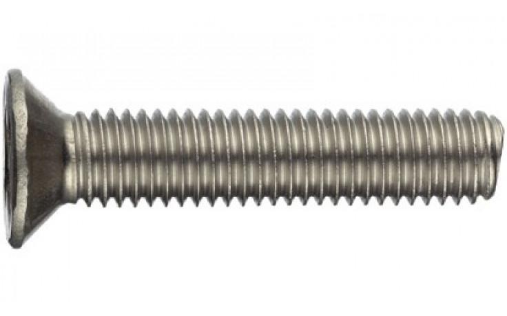 Gewindeschrauben mit Senkkopf und Kreuzschlitz M3 x 12 DIN 965 Stahl rostfrei A4