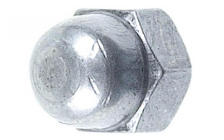 Hutmutter DIN 1587 - 6 - verzinkt blau - M12 X 1,5 - SW19