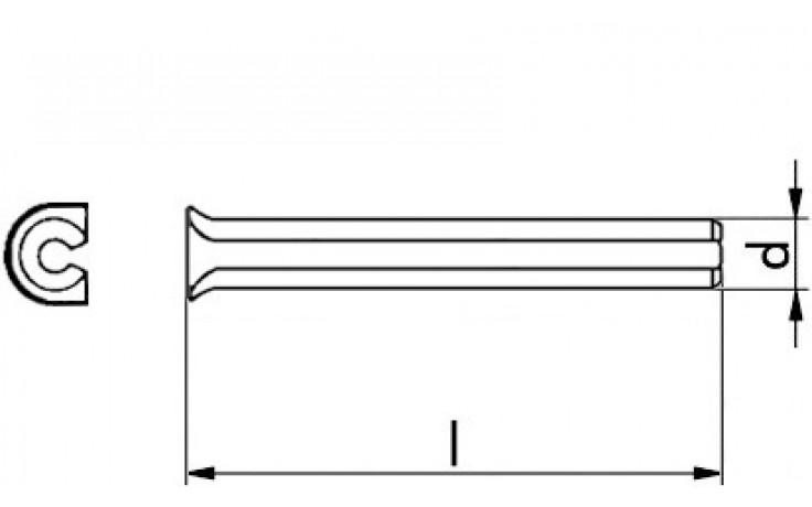 Expressnägel EXN A2K 8 x 110