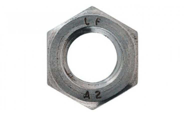 Niedrige Sechskantmutter DIN 439B - A2 - M16 LH