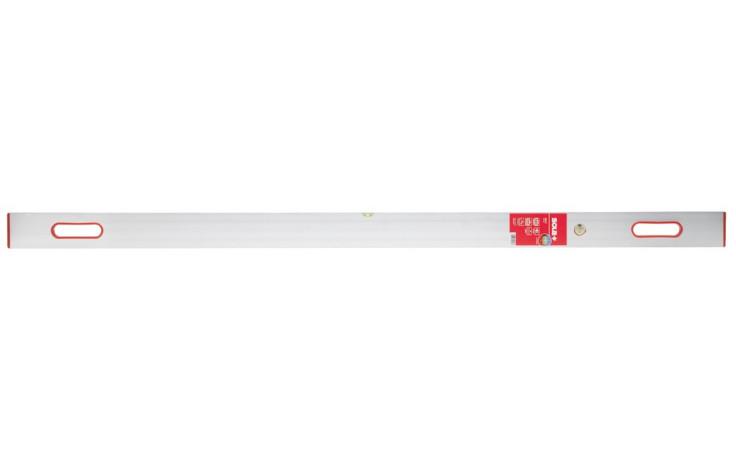 SOLA Waaglatte SLXG 252, 10x250 cm, 2 Griffe,1 Wagrechte / 1 Senkrechte-Libelle