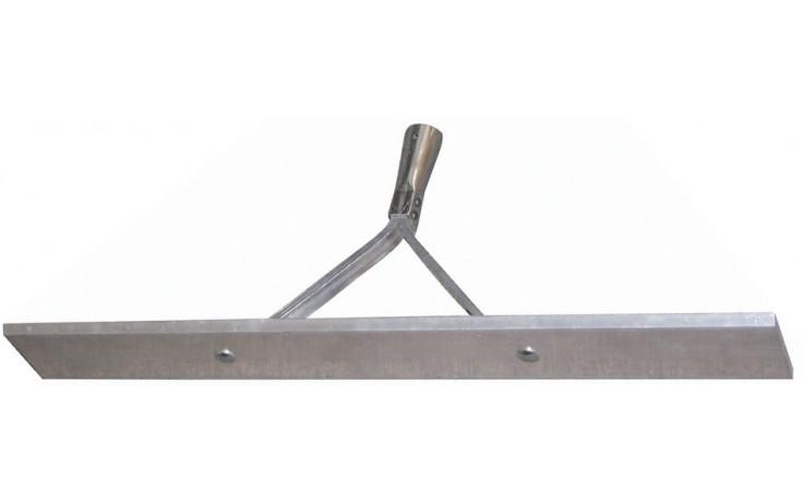 Aluminium Asphaltschieber 700 mm ohne Stiel mit Strebe