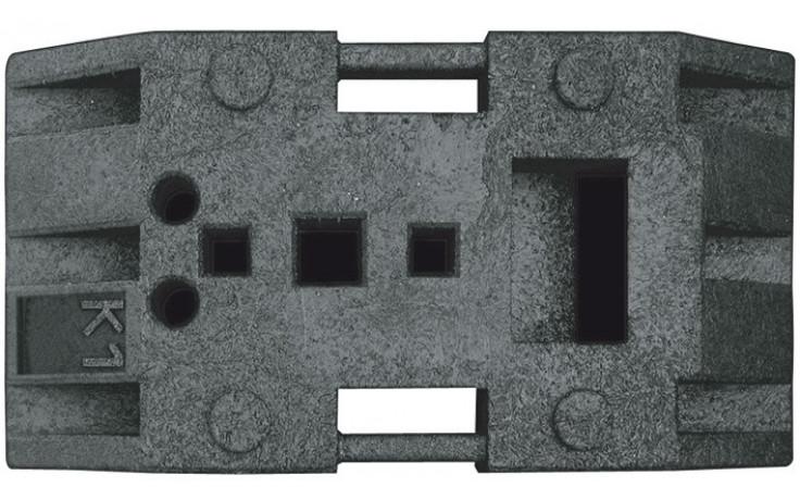 Universalfußplatte K1, geprüft nach TL-Aufstellungsvorrichtung K1, Gewicht 28kg