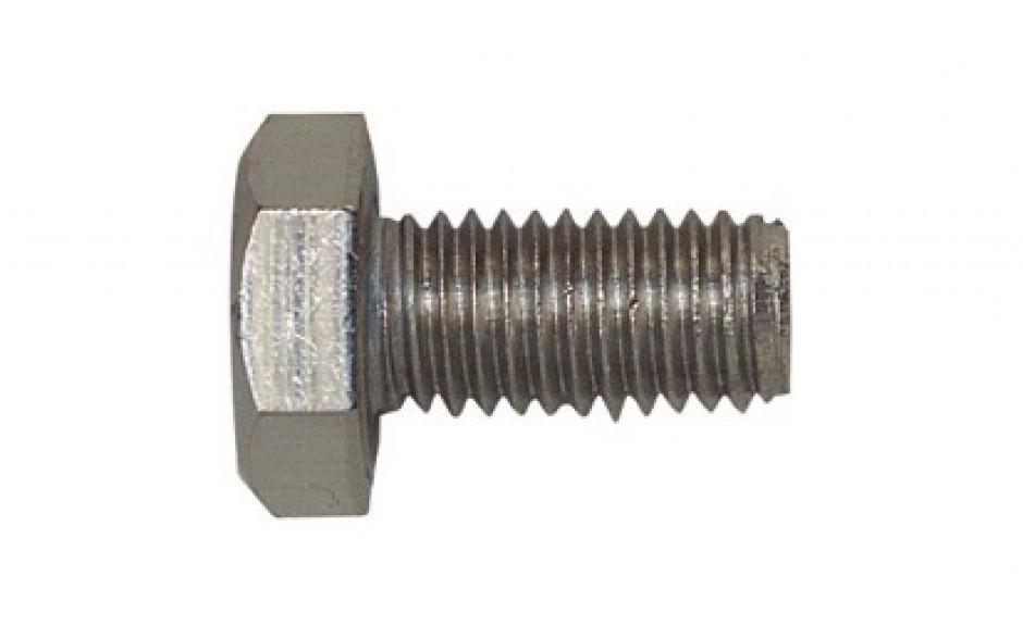 Sechskantschraube mit Gewinde bis Kopf ISO 4017 Edelstahl A2-70 M 10 x 50 mm