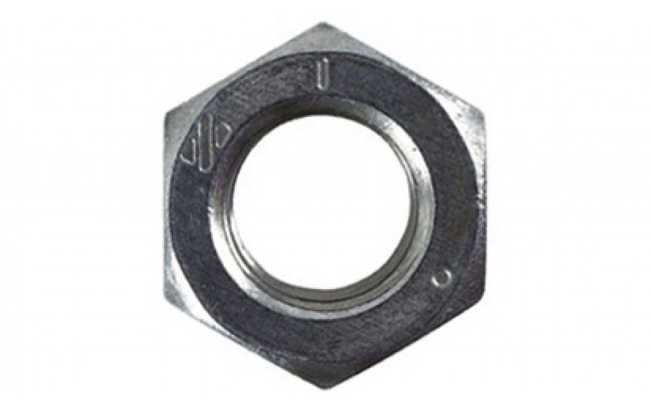 Sechskantmuttern UNF 1 Zoll DIN 934 GR.5 Stahl blank