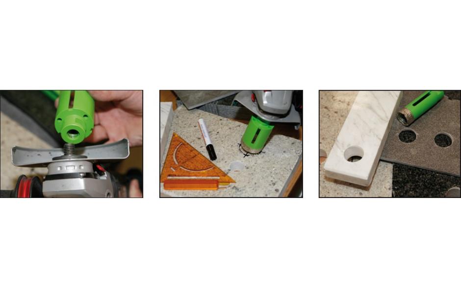RECA diadrill Keramik 40 X 70 mm M14