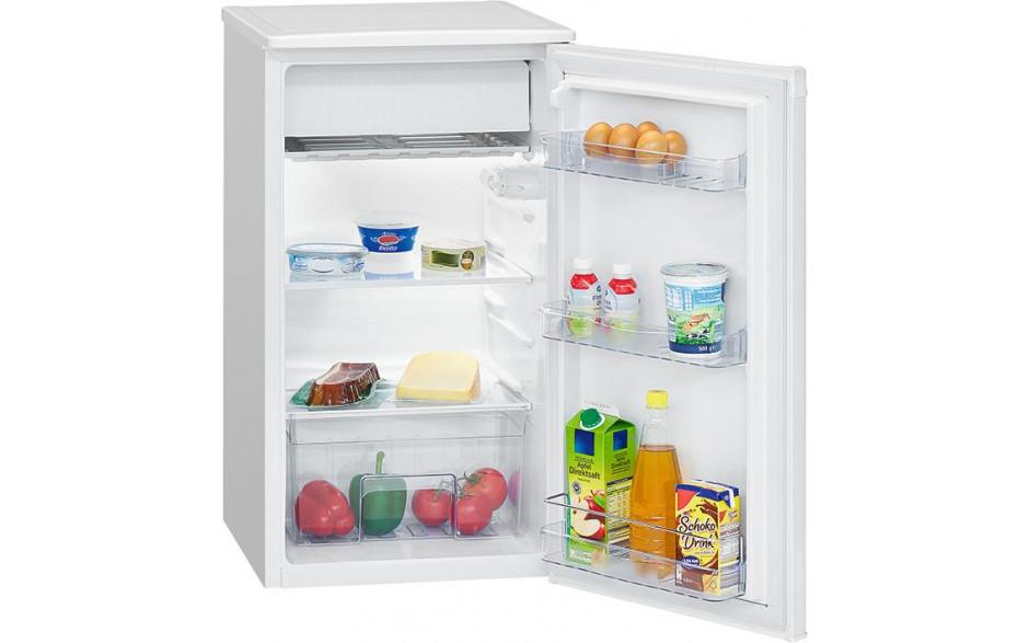 Kühlschrank Standgerät, weiß, mit ****-Gefrierfach, 230 Volt,