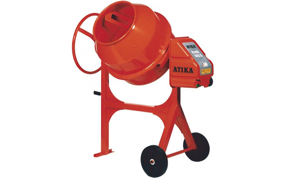ATIKA Betonmischer Profi 145 S, 0,7 kW, 230 Volt, Füllmenge 145 Liter,