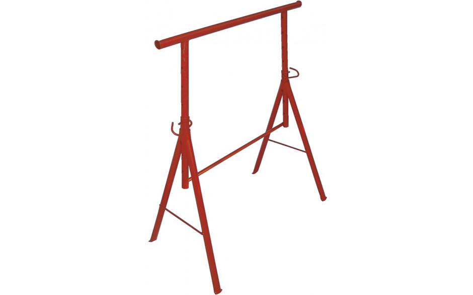 Metall-Gerüstbock, Grösse II, Höhe 105 - 170 cm, lackiert, max. Belastung 400 kg