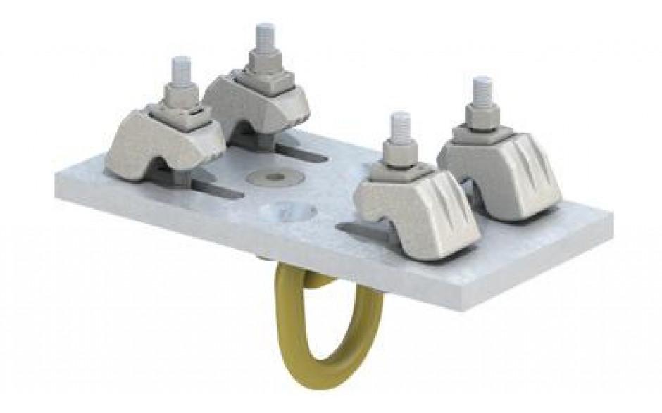 Lindapter® verstellbare Hebeöse Typ ALP - feuerverzinkt - ALP 3T-1