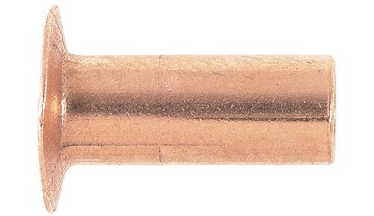 Rohrniete DIN 7338C - Kupfer - 5 X 15