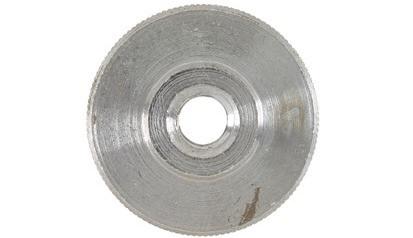 Rändelmutter DIN 467 - Stahl - blank - M3