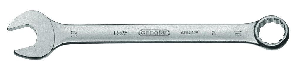 Ring-Maulschlüssel GEDORE-Vanadium DIN 3113 Ring 7° abgewinkelt, SW 36 mm