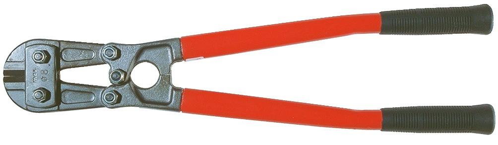 STUBAI Bolzenschere Modell 1129, Länge 470 mm, max Schnittleistung 8 mm