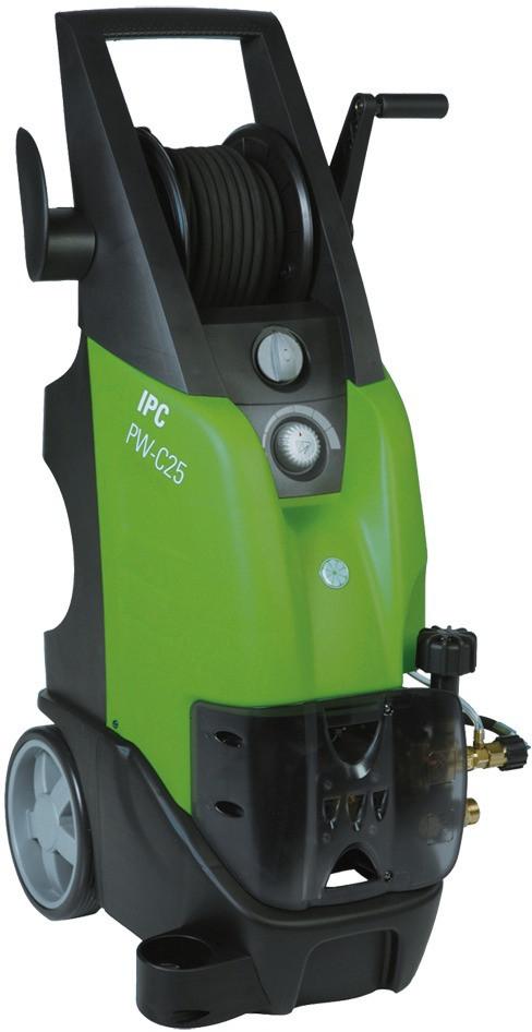 IPC Hochdruckreiniger PW-C25CP,800l/h,180bar,5,0kW,400V,Lanze 12 m HD-Schlauch