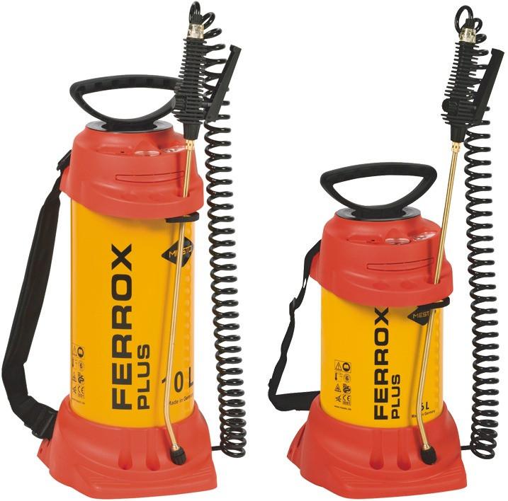 MESTO Schalölspritze Ferrox Plus 10 l mit kompletter Spritzleitung und Rohr