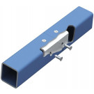 Lindapter® Hollo-Bolt Flush Fit Typ HBFF - Stahl - verzinkt blau - M10 X 70 - HBFF10-2