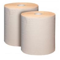 Čistiaci papier 2-vrstvový, prírodný, 36x38 cm, 2 role/bal. = 2000 útržkov